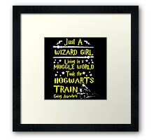Wizard Girl Framed Print