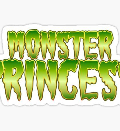 Monster Princess Sticker