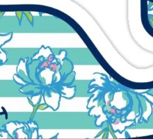 Vineyard Vines Whale Sticker Lilly Pulitzer Inspired Print Sticker