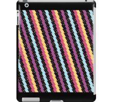 Dinamic Girlz Retro Zig Zag Pattern iPad Case/Skin