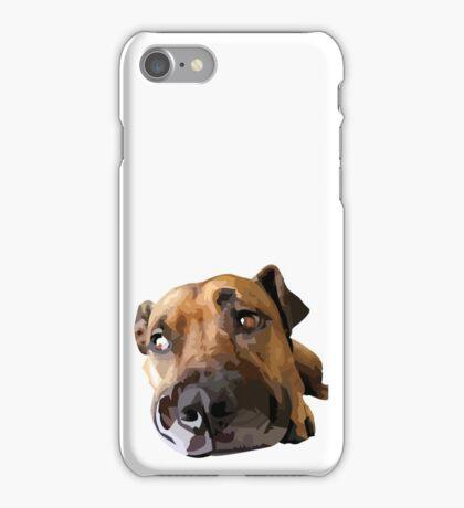 Puppy Dog Vector Portrait iPhone Case/Skin
