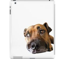 Puppy Dog Vector Portrait iPad Case/Skin