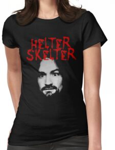 Charles Manson - Helter Skelter Womens Fitted T-Shirt
