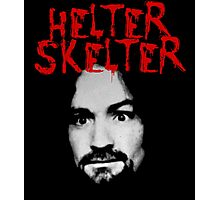 Charles Manson - Helter Skelter Photographic Print