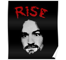Charles Manson - Rise Poster