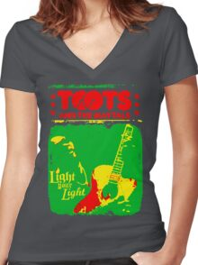 Toots And The Maytals : Light Your Light Women's Fitted V-Neck T-Shirt