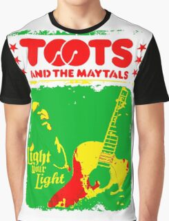 Toots And The Maytals : Light Your Light Graphic T-Shirt