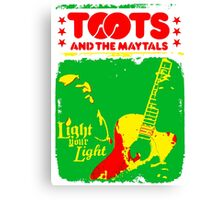 Toots And The Maytals : Light Your Light Canvas Print