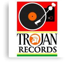 Trojan Records : Player Canvas Print