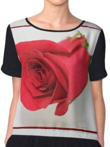 Let Me Call You Sweetheart ~ A Rose Chiffon Top