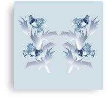 Bird Day celebrations for Vini Marina 3 Canvas Print