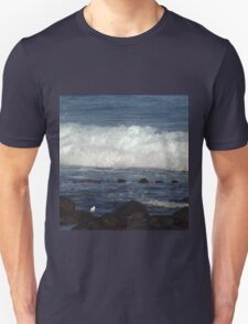 Port Fairy - waves roll in Unisex T-Shirt