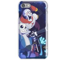 Undertale - Sans and Papyrus! - Waterfall iPhone Case/Skin