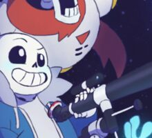 Undertale - Sans and Papyrus! - Waterfall Sticker
