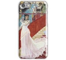 F?licien Rops - The Row. Rops - woman portrait. iPhone Case/Skin