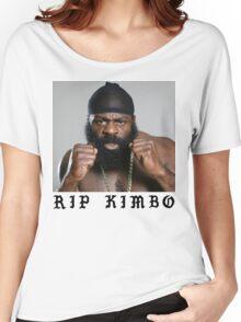 RIP Kimbo Slice Tshirt Women's Relaxed Fit T-Shirt