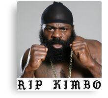 RIP Kimbo Slice Tshirt Canvas Print