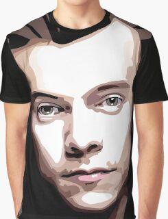 Long hair Vector portrait Graphic T-Shirt
