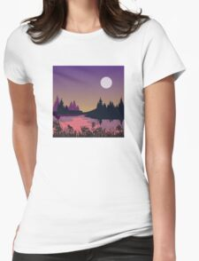 My Nature Collection No. 14 Womens Fitted T-Shirt