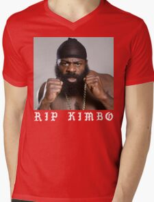 RIP Kimbo Slice Tshirt Mens V-Neck T-Shirt