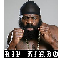RIP Kimbo Slice Tshirt Photographic Print