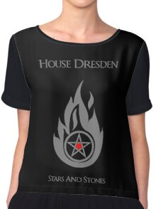 House Dresden - Stars and Stones Chiffon Top