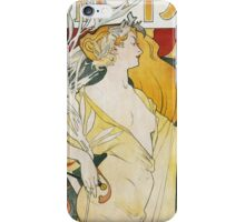 Foache - Clement Poster. Foache - woman portrait. iPhone Case/Skin