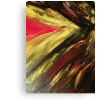 Abstract Fury Canvas Print