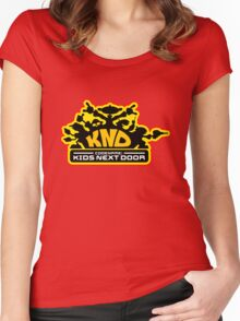 Codename: Kids Next Door Women's Fitted Scoop T-Shirt