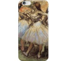 Perbincangan balerina iPhone Case/Skin