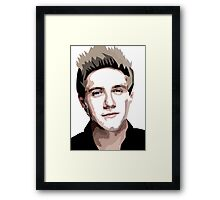 Irish Vector portrait Framed Print