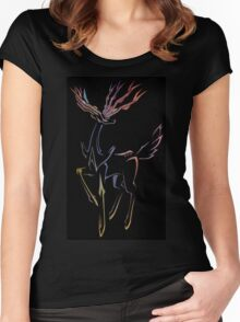 Xerneas - Justice Women's Fitted Scoop T-Shirt