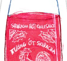 Sriracha Blues Sticker