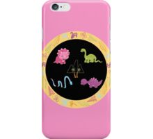 Dinamic Girls Collection - Girl Dinosaur Design iPhone Case/Skin