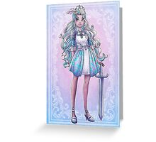 Darling Charming Greeting Card