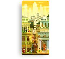 Canvas City Canvas Print