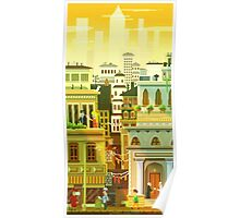 Canvas City Poster