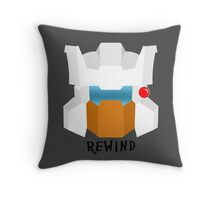 Autobot Rewind Throw Pillow