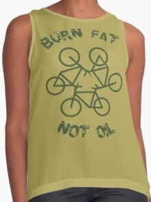 Burn Fat Not Oil - Recycle Contrast Tank