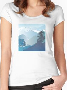 My Nature Collection No. 30 Women's Fitted Scoop T-Shirt