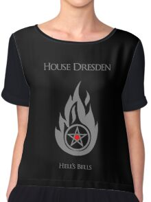 House Dresden - Hell's Bells Chiffon Top