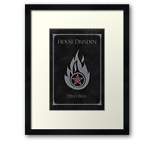 House Dresden - Hell's Bells Framed Print