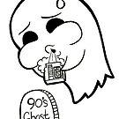 Retro 90s Ghost by Shonuff  Studio
