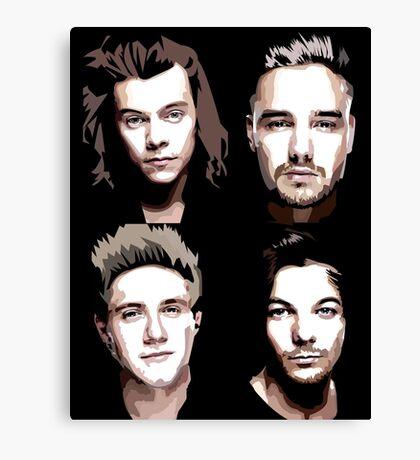 group vector portrait Canvas Print