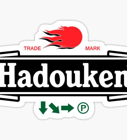 Brewhouse: Hadouken Sticker