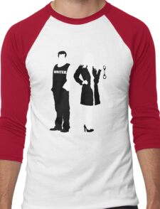 Castle& Beckett Men's Baseball ¾ T-Shirt