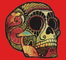 Grunge Skull One Piece - Short Sleeve