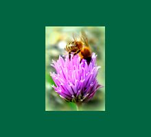 Bee on chive flower Unisex T-Shirt
