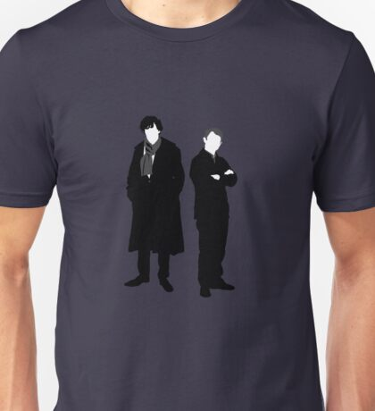 Holmes and Watson Unisex T-Shirt