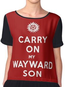 Carry on (My wayward son) Chiffon Top